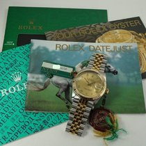 Rolex 16013 Gold/Steel 1987 Datejust 36mm pre-owned United States of America, Texas, Houston