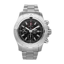 Breitling Super Avenger Steel 48mm Black No numerals United States of America, Pennsylvania, Bala Cynwyd