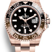 Rolex GMT-Master II Or rose 40mm Noir