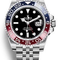 Rolex GMT-Master II Steel 40mm Black No numerals United States of America, New York, Brooklyn