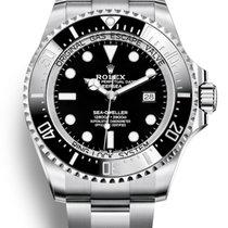 Rolex Sea-Dweller Deepsea Steel 44mm Black No numerals United States of America, New York, Brooklyn
