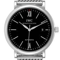 IWC Portofino Automatic Steel 40mm Black Roman numerals United States of America, Georgia, Atlanta