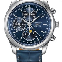Longines Master Collection Stahl 42mm Blau