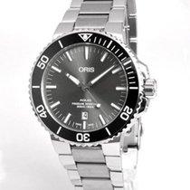 Oris Aquis Titanium Date new Automatic Watch with original box 01733773071530782415PEB