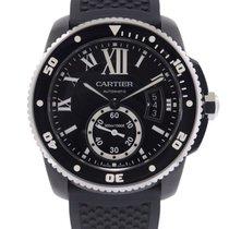 Cartier Calibre de Cartier Diver 42mm Noir Romains