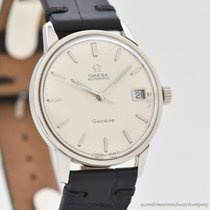 Omega Genève Steel 34mm Silver No numerals United States of America, California, Beverly Hills