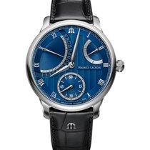 Maurice Lacroix Masterpiece Stahl 43mm Blau Schweiz, Samnaun