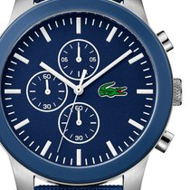 Lacoste Steel 45mm Quartz 2010945 new