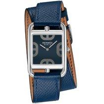 Hermès Cape Cod Stahl 29mm Blau