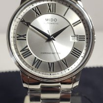 Mido Baroncelli III 39mm Silver Roman numerals United States of America, California, Anaheim