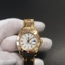 Rolex Lady-Datejust Pearlmaster Ouro amarelo