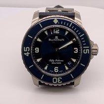 Blancpain 5015-12B40-O52A Titanium Fifty Fathoms 45mm new
