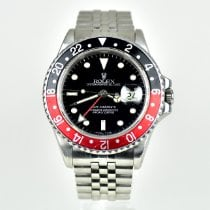 Rolex pre-owned Automatic 40mm Black Sapphire crystal 10 ATM