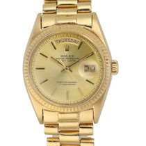 Rolex 1803 Yellow gold 1970 Day-Date 36 36mm pre-owned United States of America, New York, New York