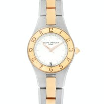 Baume & Mercier Linea Gold/Steel 27mm Silver United States of America, New Jersey, Cresskill