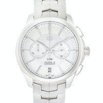 TAG Heuer Link Calibre 18 new Automatic Chronograph Watch with original box and original papers CAT2111.BA0959
