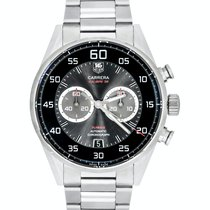 TAG Heuer Carrera Calibre 36 Steel 43mm Black Arabic numerals United States of America, New Jersey, Cresskill
