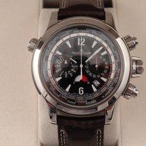Jaeger-LeCoultre Master Compressor Extreme World Chronograph подержанные 46mm Черный Хронограф Дата Кожа