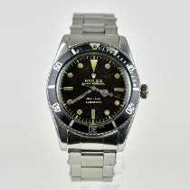 Rolex Submariner (No Date) Stål 38mm Sort Ingen tal