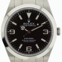 Rolex Explorer Stahl 39mm Schwarz Arabisch Deutschland, Berlin