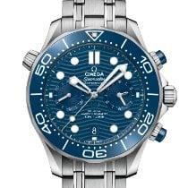 Omega Seamaster Diver 300 M Stahl 44mm Blau Keine Ziffern Schweiz, Samnaun