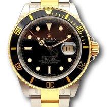 Rolex Submariner Date новые 2008 Автоподзавод Часы с оригинальными документами и коробкой 16613LN