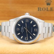 Rolex Air King Precision Acier 34mm Bleu Arabes