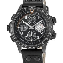 Hamilton Khaki X-Wind Steel Black Arabic numerals United States of America, New York, Brooklyn