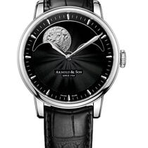 Arnold & Son 1GLASB01AC122S Steel HM Perpetual Moon 42mm new