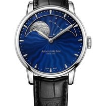 Arnold & Son HM Perpetual Moon Steel 42mm Blue