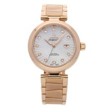 Omega De Ville Ladymatic Rose gold 34mm White No numerals United States of America, Pennsylvania, Bala Cynwyd