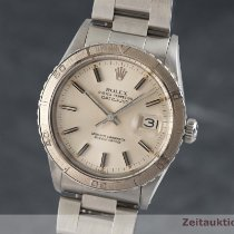 Rolex Datejust Turn-O-Graph Aur/Otel 36mm Argint
