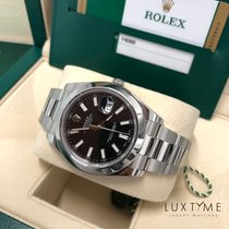 Rolex Datejust II Acier 41mm Noir