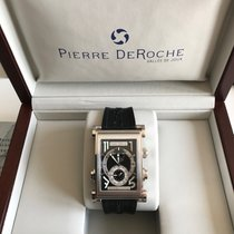 Pierre DeRoche Aur/Otel 46mm Atomat SPR30001ACI0-001CAO folosit