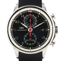 IWC Portuguese Yacht Club Chronograph Staal Zwart Arabisch Nederland, Woerden