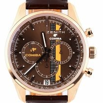 Zenith El Primero Chronomaster Rose gold 40mm Brown United States of America, New York, Lynbrook