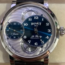 Bovet Steel 42mm Manual winding RNTS0001 pre-owned Singapore, Singapore