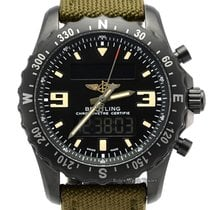 Breitling Chronospace Military M7836622/BD39 Muy bueno Acero 46mm Cuarzo