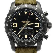 Breitling Chronospace Military M7836622/BD39 Meget god Stål 46mm Kvarts