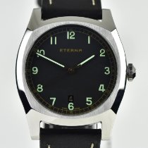 Eterna Heritage Military Acero 40mm