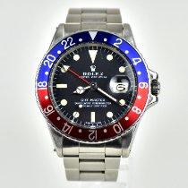 Rolex GMT-Master Steel 40mm Black No numerals United Kingdom, West Yorkshire