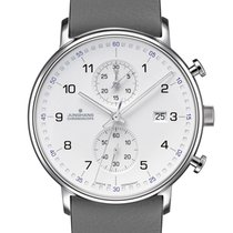 Junghans FORM C Steel 40mm White