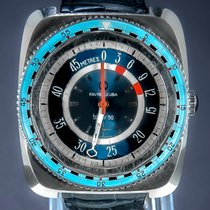 Favre-Leuba pre-owned Manual winding 42.5mm Blue Mineral Glass