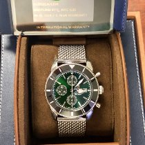 Breitling Superocean Héritage II Chronographe Steel 46mm Green No numerals United States of America, Texas, Houston