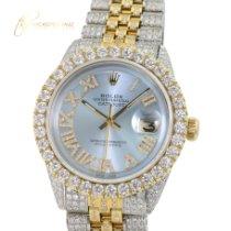 Rolex Datejust Gold/Steel 36mm Gold No numerals
