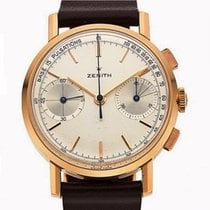 Zenith Rose gold 36mm Manual winding Zenith 550 Rose Gold Pulsation Scale pre-owned
