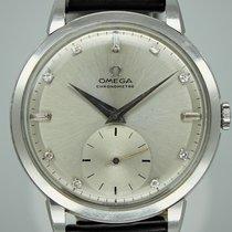 Omega Platina Ruční natahování Stříbrná Bez čísel 37.5mm použité