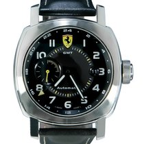 Panerai pre-owned Automatic 45mm Black Sapphire crystal