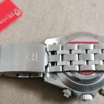 Tudor Prince Date Stahl 40mm Silber Keine Ziffern