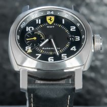 Panerai Ferrari Steel 45mm Black Arabic numerals